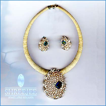 jewellery designer tanishq and diamond designs pendant gold