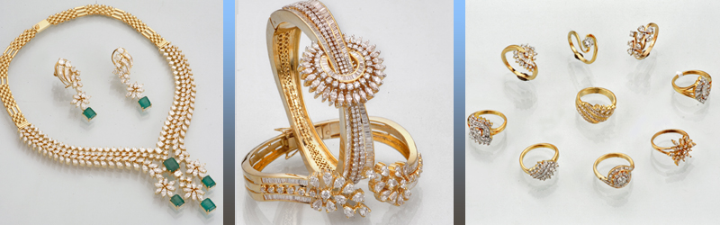 Wide variety of Diamond Jewellery