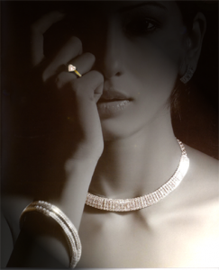 diaomond necklaces,bangles and rings